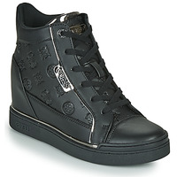 Shoes Women Hi top trainers Guess FABIA Black