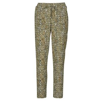 Clothing Women Wide leg / Harem trousers Ikks BR22005 Kaki