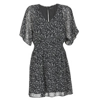 Clothing Women Short Dresses Ikks BR30075 Black