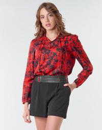 Clothing Women Tops / Blouses Ikks BR13085 Red