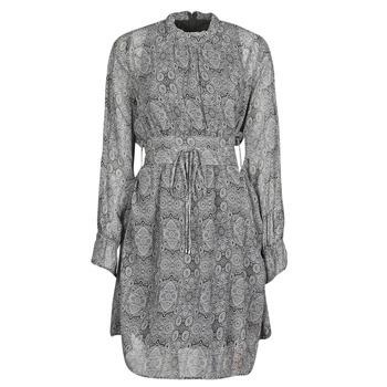 Clothing Women Short Dresses Ikks BR30165 Grey