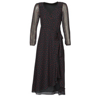 Clothing Women Long Dresses Ikks BR30225 Black