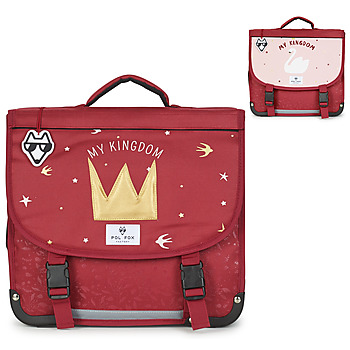 Bags Girl Satchels Pol Fox MY KINGDOM CARTABLE 38 CM Red
