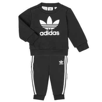 Clothing Children Sets & Outfits adidas Originals CREW SET Black