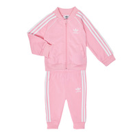 Clothing Girl Sets & Outfits adidas Originals SST TRACKSUIT Pink