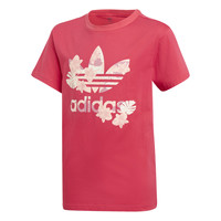 Clothing Girl Short-sleeved t-shirts adidas Originals TEE Pink