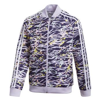 Clothing Girl Track tops adidas Originals SST TOP Purple