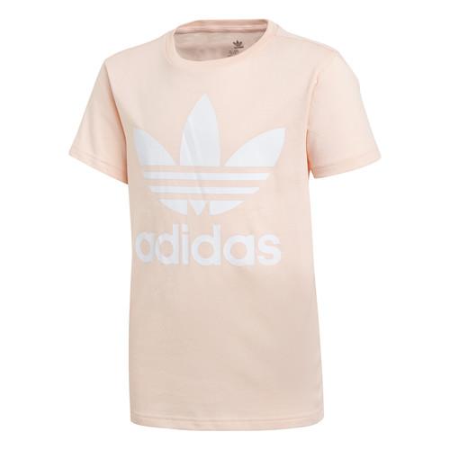 Clothing Girl Short-sleeved t-shirts adidas Originals TREFOIL TEE Pink