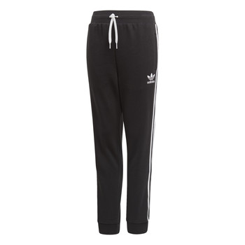 Clothing Children Tracksuit bottoms adidas Originals TREFOIL PANTS Black