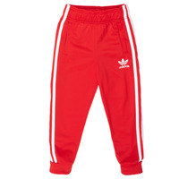 Clothing Children Tracksuit bottoms adidas Originals SST TRACKPANT Red
