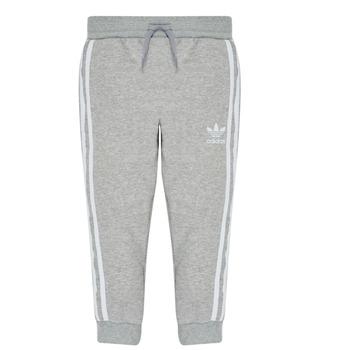 Clothing Boy Tracksuit bottoms adidas Originals TREFOIL PANTS Grey