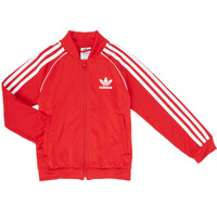Clothing Boy Track tops adidas Originals SST TRACKTOP Red