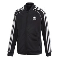 Clothing Children Track tops adidas Originals SST TRACKTOP Black