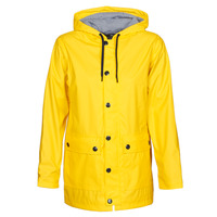 Clothing Women Parkas Petit Bateau FIRE Yellow