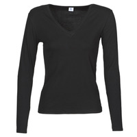Clothing Women Long sleeved tee-shirts Petit Bateau 58315 Black