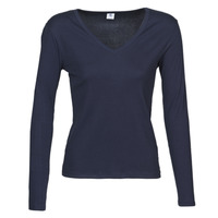 Clothing Women Long sleeved tee-shirts Petit Bateau 58315 Marine