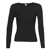 Clothing Women Long sleeved tee-shirts Petit Bateau 53409 Black