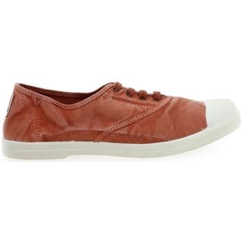 Shoes Women Trainers Natural World Basket Wine 642-102E Orange
