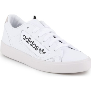 Shoes Women Low top trainers adidas Originals Adidas Sleek W EF4935 white