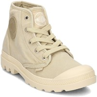 Shoes Women Hi top trainers Palladium Pampa HI Yellow