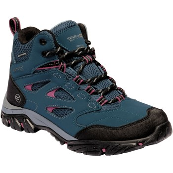 Shoes Women Boots Regatta LADY HOLCOMBE IEP Mid Boots Blue