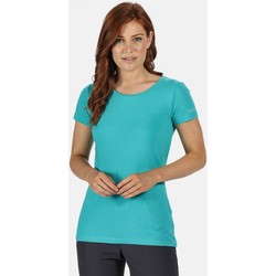 Clothing Women T-shirts & Polo shirts Regatta CARLIE TShirt Turquoise Green Green