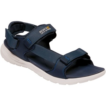 Shoes Men Outdoor sandals Regatta MARINE WEB Sandals Dark Denim Navy  Blue Blue