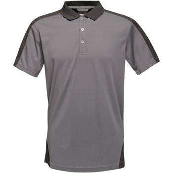 Clothing T-shirts & Polo shirts Professional CONTRAST Coolweave TShirt Grey
