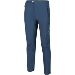 Clothing Men Trousers Regatta Highton Multi Pocket Walking Trousers Blue Blue