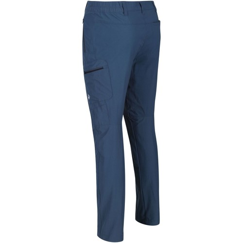 .co.uk  Highton Multi Pocket Walking Trousers Blue  Regatta  trousers  men  blue