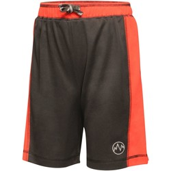 Clothing Children Shorts / Bermudas Professional TOKYO Lightweight Shorts Black Classic Red Black Black