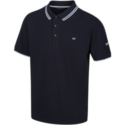 Clothing Men T-shirts & Polo shirts Regatta Talcott II Pique Polo Shirt Blue Blue