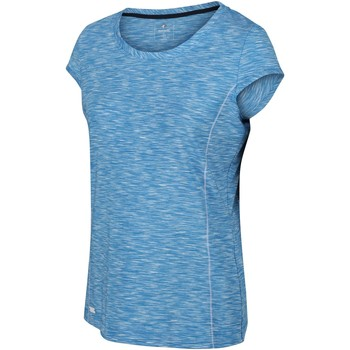 Clothing Women T-shirts & Polo shirts Regatta Hyperdimension Quick Dry T-Shirt Blue Blue