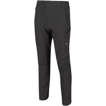 Clothing Men Tracksuit bottoms Regatta Highton Stretch Water-Repellent Walking Trousers Seal Grey Grey Grey