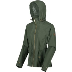 Clothing Women Coats Regatta Laurenza Lightweight Waterproof Jacket Green Green