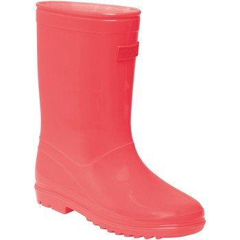 Shoes Children Wellington boots Regatta WENLOCK JUNIOR Wellingtons Fiery Coral Orange Orange