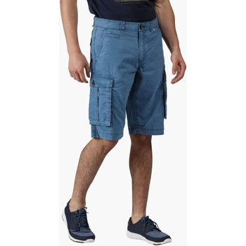 Clothing Men Shorts / Bermudas Regatta Shorebay Vintage Look Cargo Shorts Blue Blue