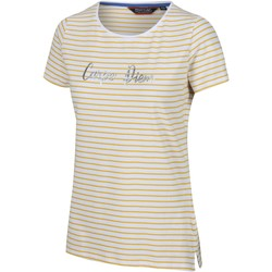 Clothing Women T-shirts & Polo shirts Regatta OLWYN TShirt Yellow