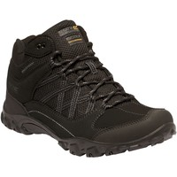 Shoes Men Boots Regatta Edgepoint Waterproof Walking Boots Black Black