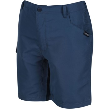 Clothing Children Shorts / Bermudas Regatta Sorcer II Cargo Walking Shorts Blue Blue