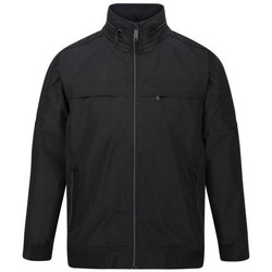 Clothing Men Jackets Regatta MONTEL Waterproof Shell Jacket Black