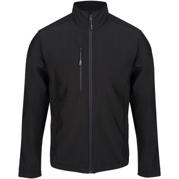 Clothing Men Coats Professional HONESTLY MADE Quick-dry Softshell Jacket Seal Grey Black Black