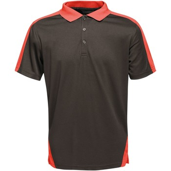 Clothing T-shirts & Polo shirts Professional CONTRAST Coolweave TShirt Black