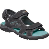 Shoes Women Sandals Regatta Holcombe Vent Walking Sandals Grey Grey