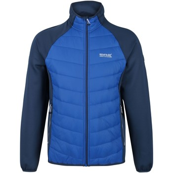 Clothing Men Coats Regatta BESTLA Baffled Jacket Blue