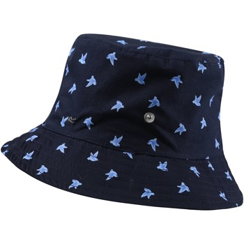 Clothes accessories Women Hats Regatta Tibby Printed Hat Navy Polka Dot Blue Blue