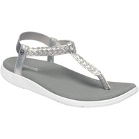 Shoes Women Sandals Regatta LADY SANTA LUNA Sandals Silver White  Grey Grey