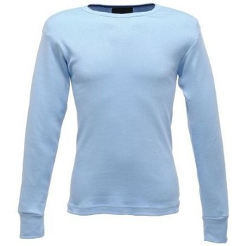 Clothing Men Long sleeved tee-shirts Professional THERMAL Long sleeve Vest Base Layer Blue