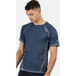 Clothing Men T-shirts & Polo shirts Regatta VIRDA II TShirt Blue