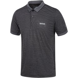 Clothing Men T-shirts & Polo shirts Regatta Remex II Jersey Polo Shirt Grey Grey